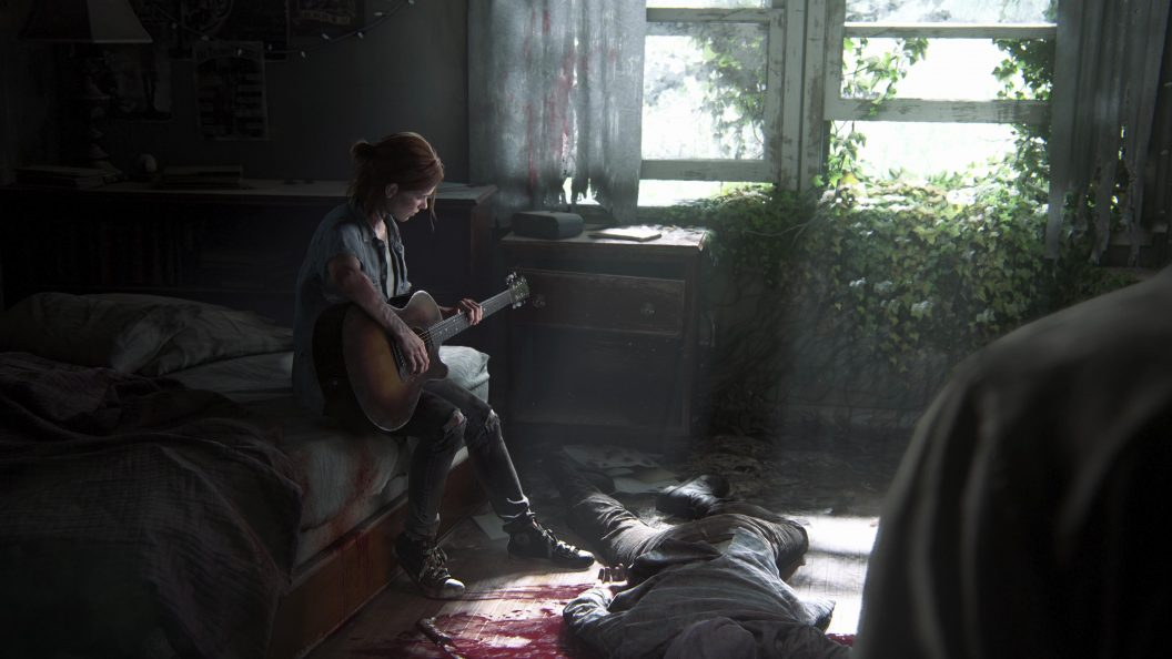 The Last Of Us Part 2 Wallpaper: The Last Of Us Part 2 : Ellie With Guitar