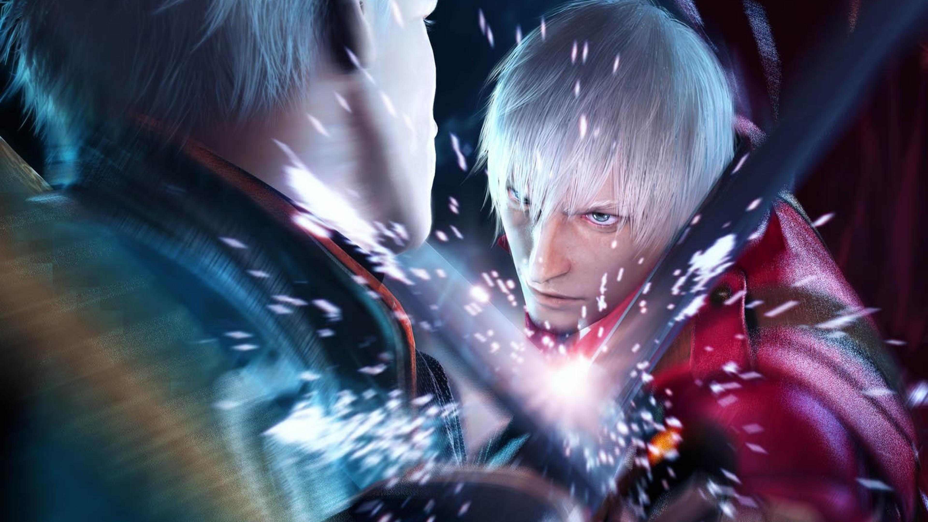 devil may cry 3 dante vs vergil | ps4wallpapers