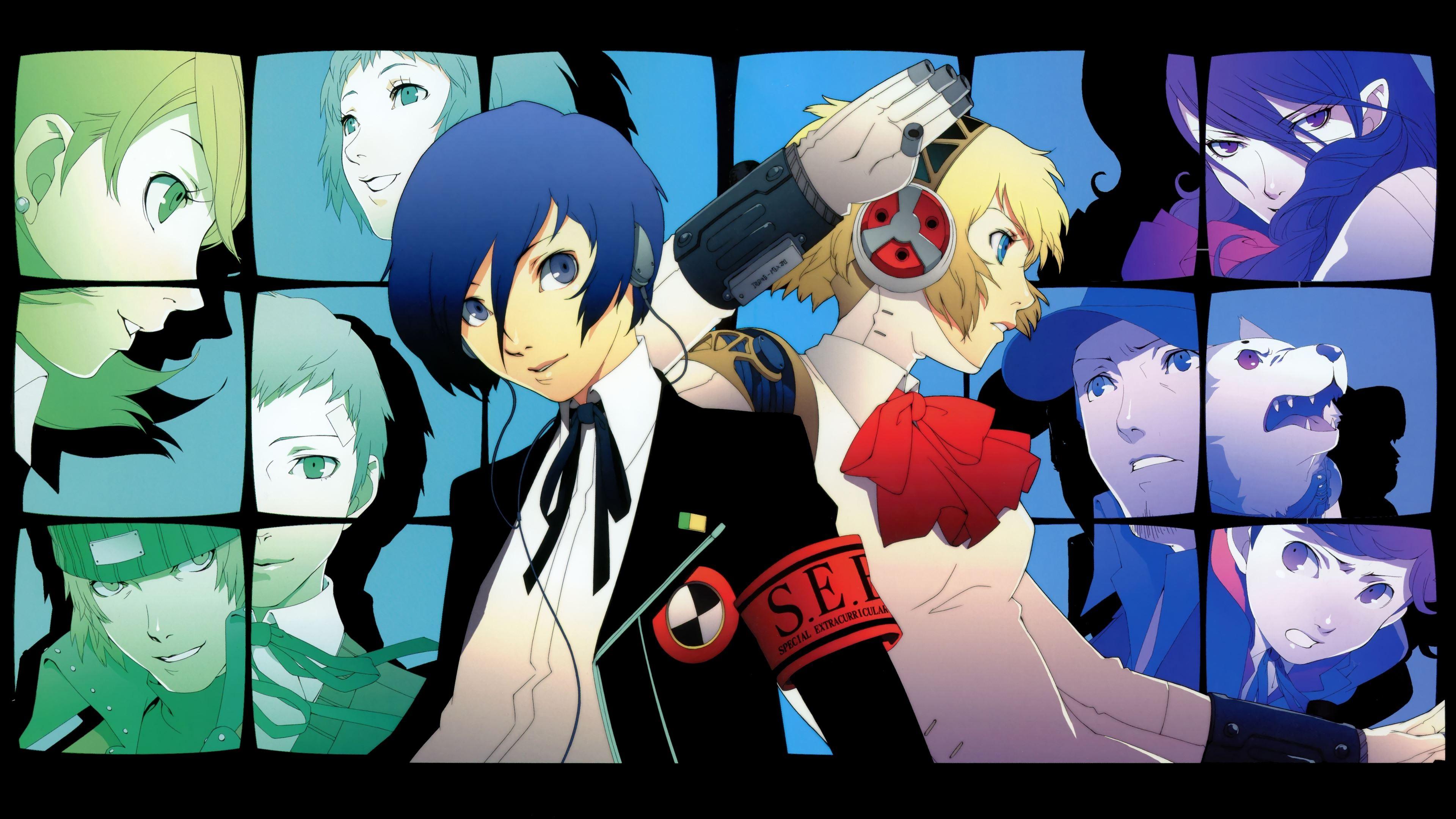 Persona 3 Wallpaper 4k: Shin Megami Tensei Persona 3