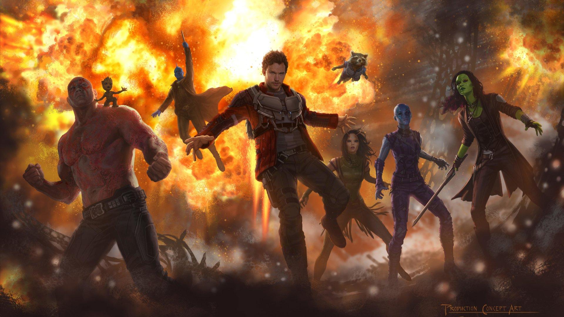 Guardians Of The Galaxy Vol 2 06 Ps4wallpaperscom