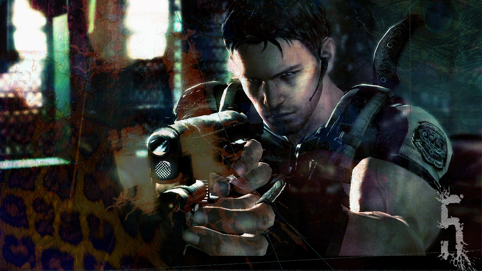 Resident Evil 5 Chris Redfield Ps4wallpapers Com