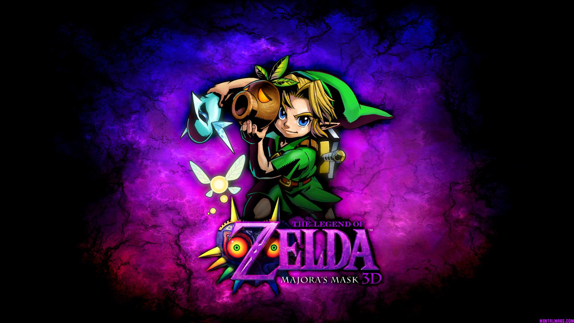 Legend Of Zelda Majoras Mask Ps4wallpaperscom