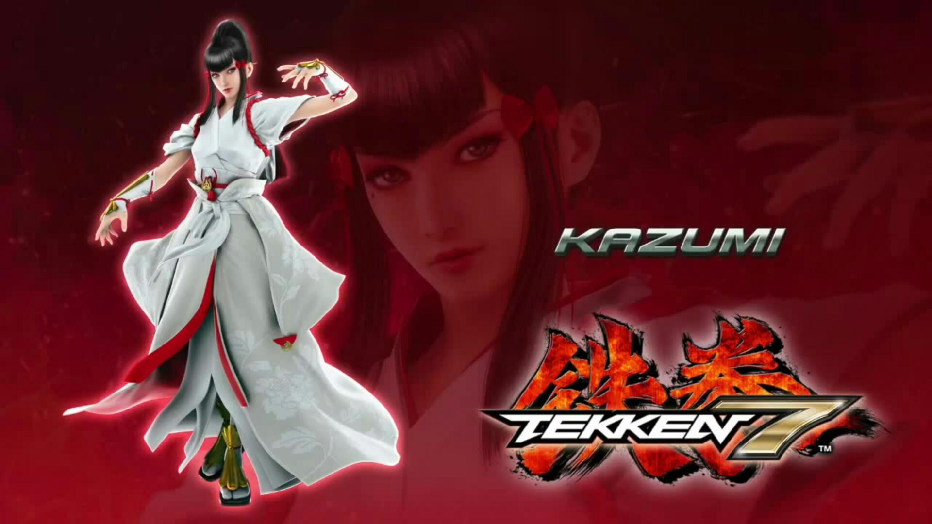 Tekken 7 Kazumi Ps4wallpapers Com
