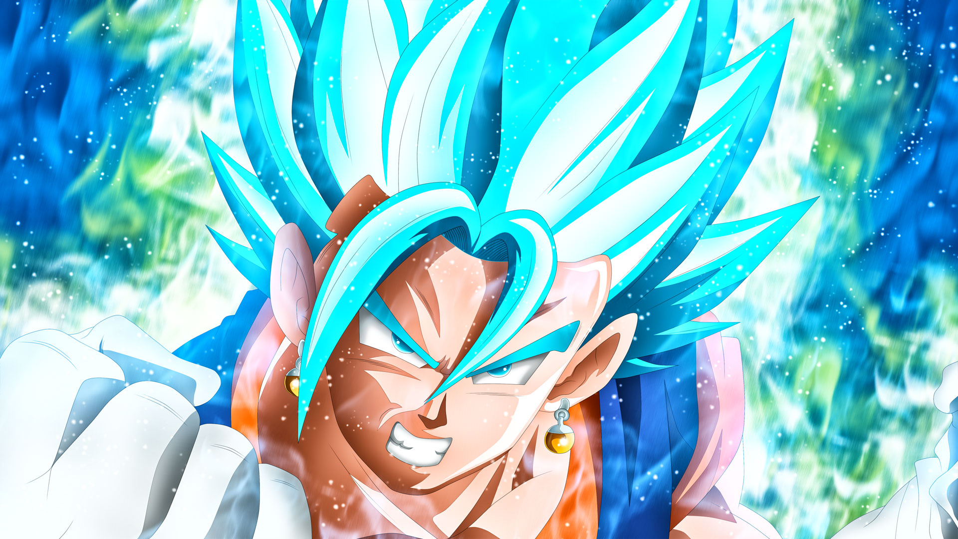 Vegito Super Saiyan Blue 3 Ps4wallpapers Com