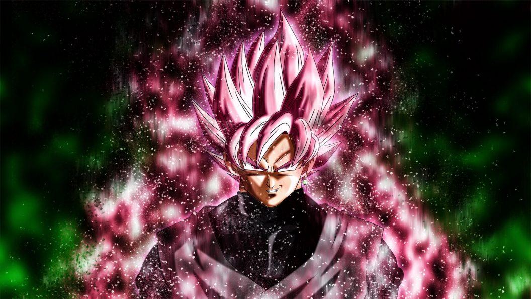 Goku Black Super Saiyan Rose Ps4wallpapers Com