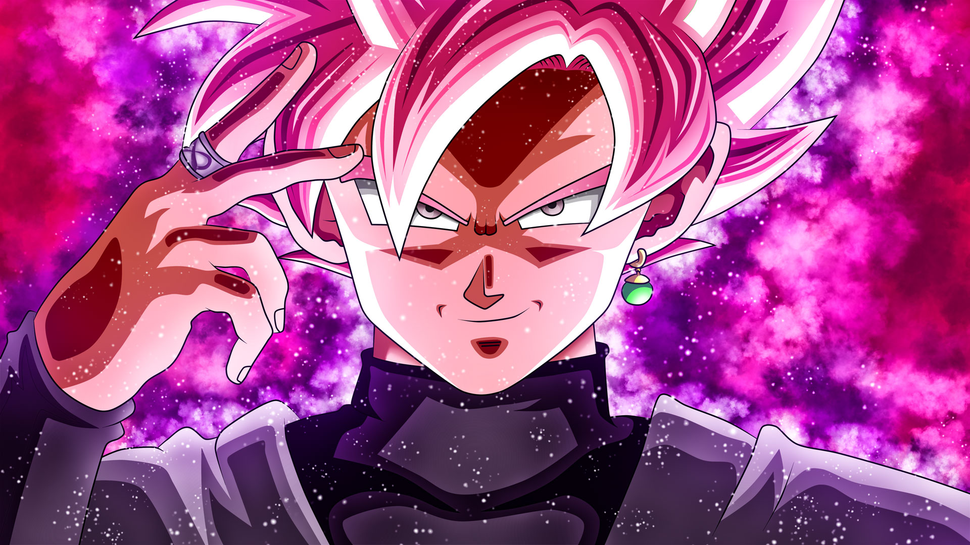 Super Saiyan Rose Goku Black Wallpaper