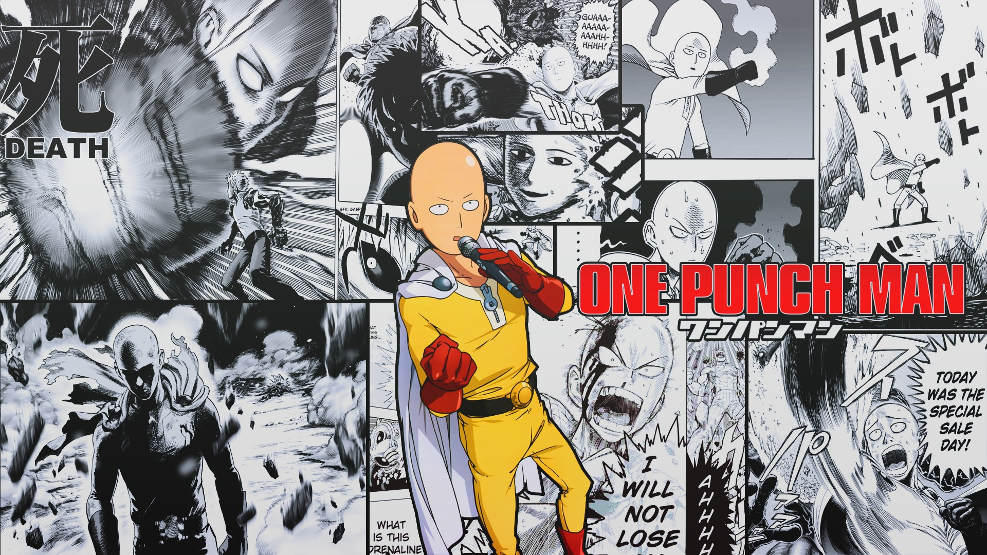 One Punch Man Ps4wallpapers Com