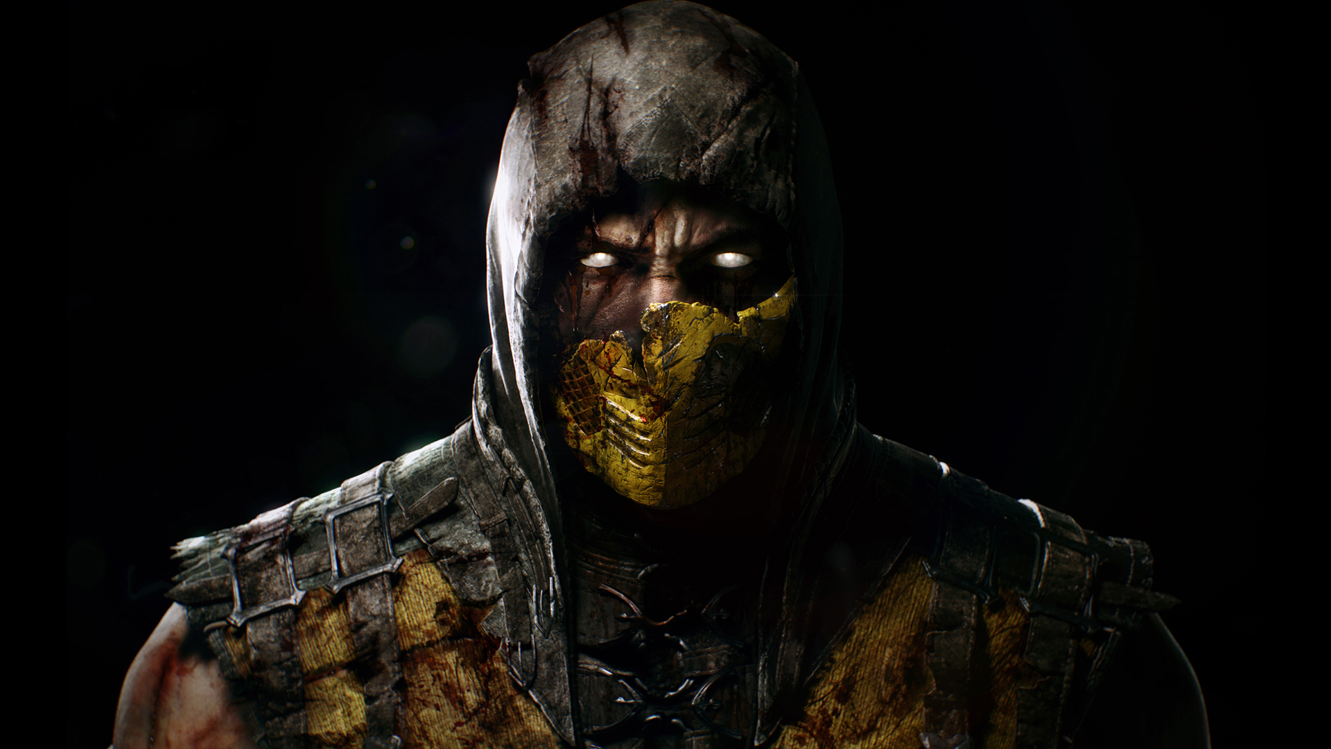 mortal kombat x scorpion | ps4wallpapers