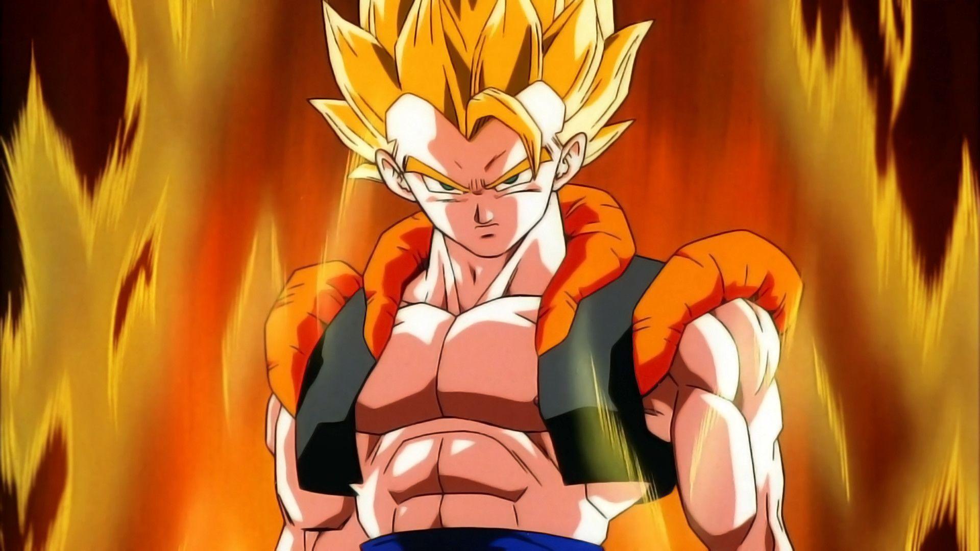 Dragon Ball Z Gogeta Ps4wallpapers Com