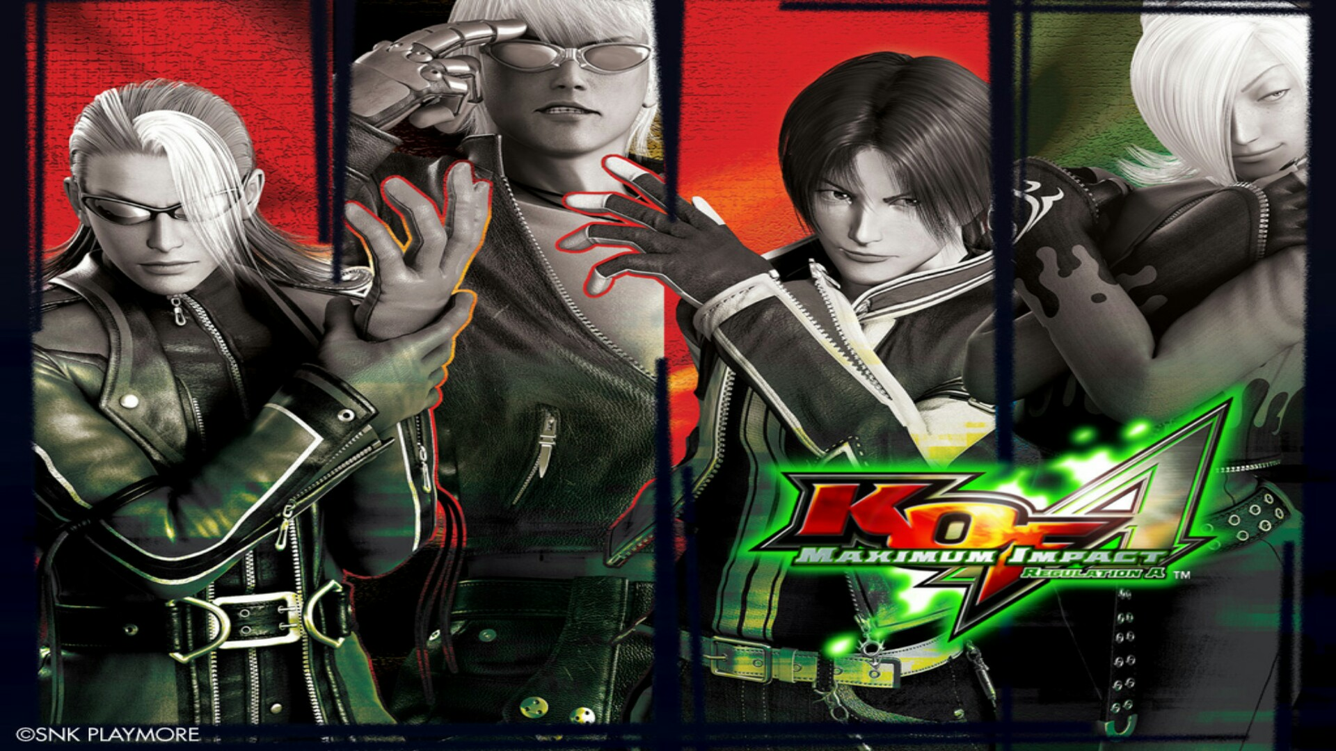 The King Of Fighters Maximum Impact Regulation A 04