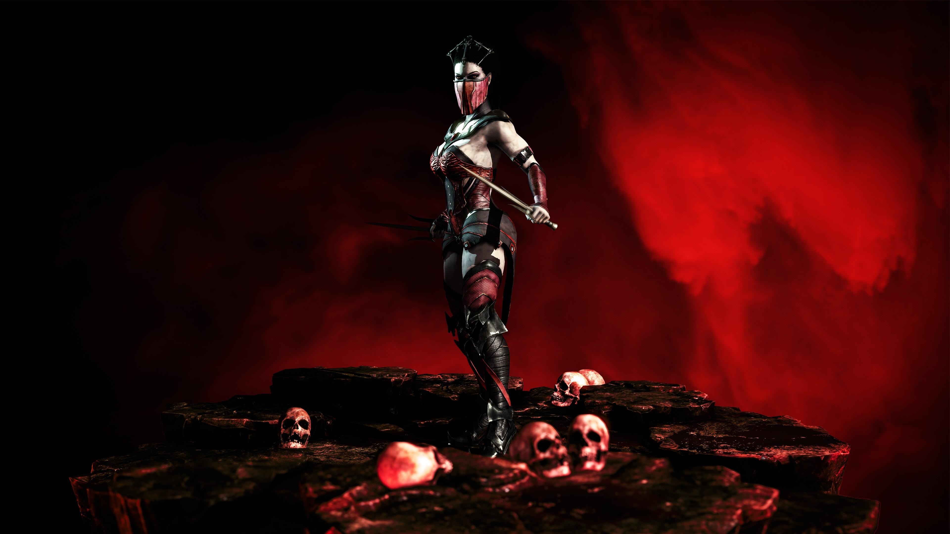 Mortal Kombat X Mileena Ps4wallpapers Com