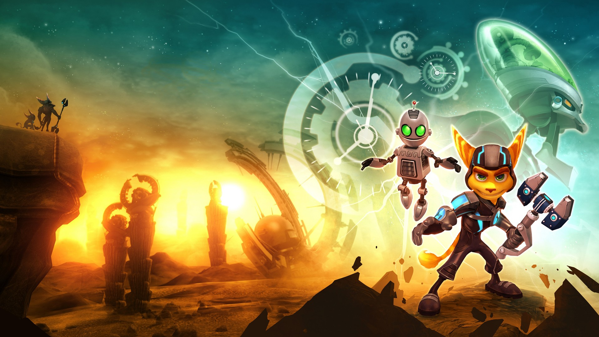 Ratchet Clank Future A Crack In Time Ps4wallpapers Com