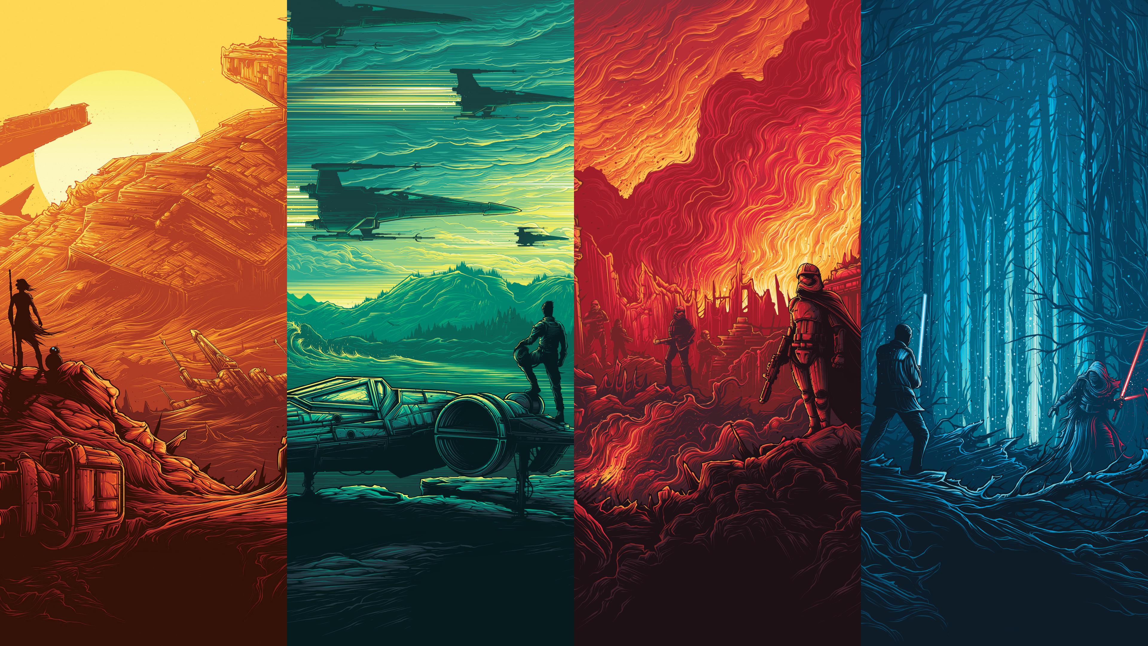 Star Wars Art Ps4wallpapers Com
