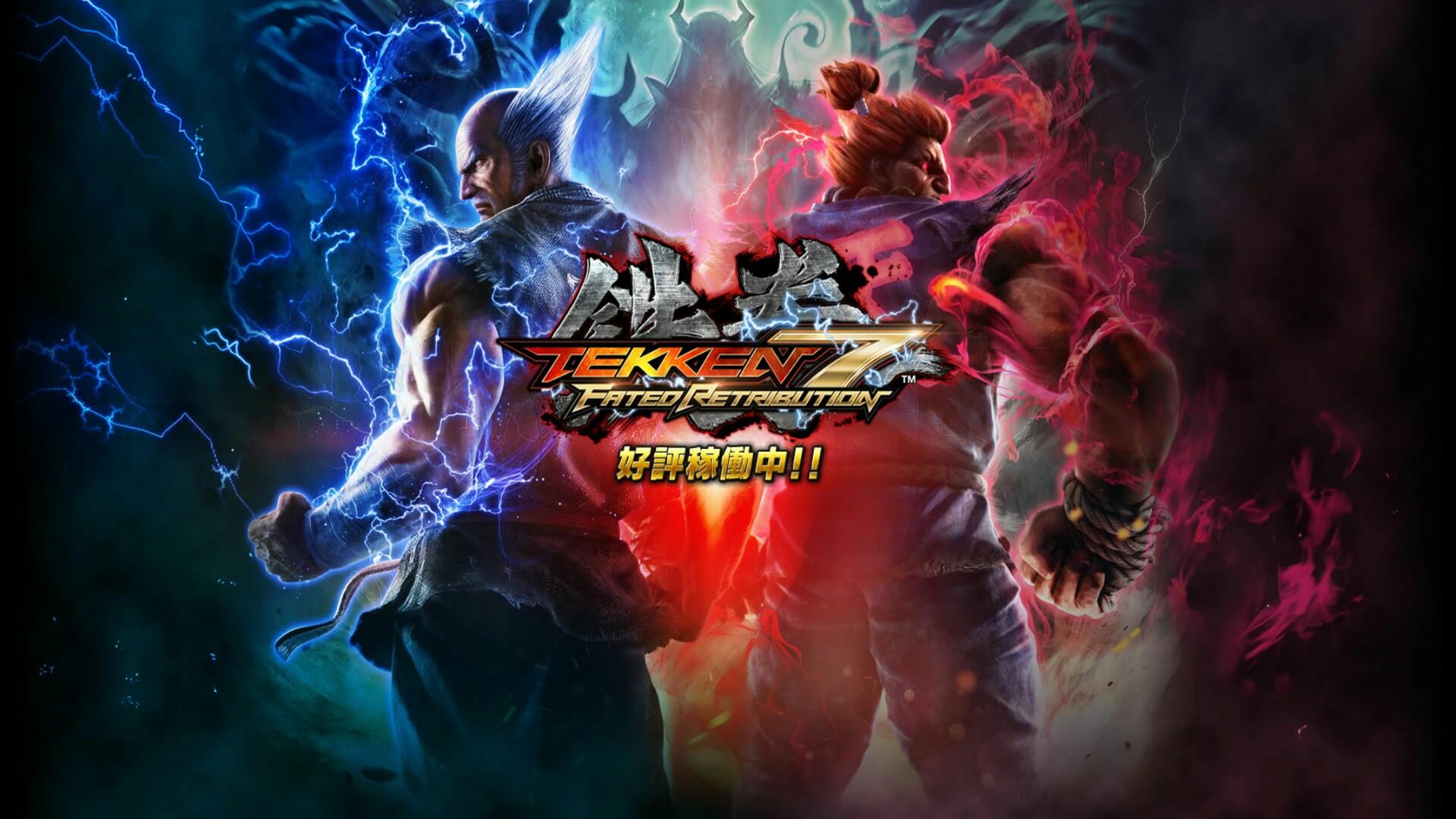 Tekken 7 Heihachi Akuma Ps4wallpapers Com