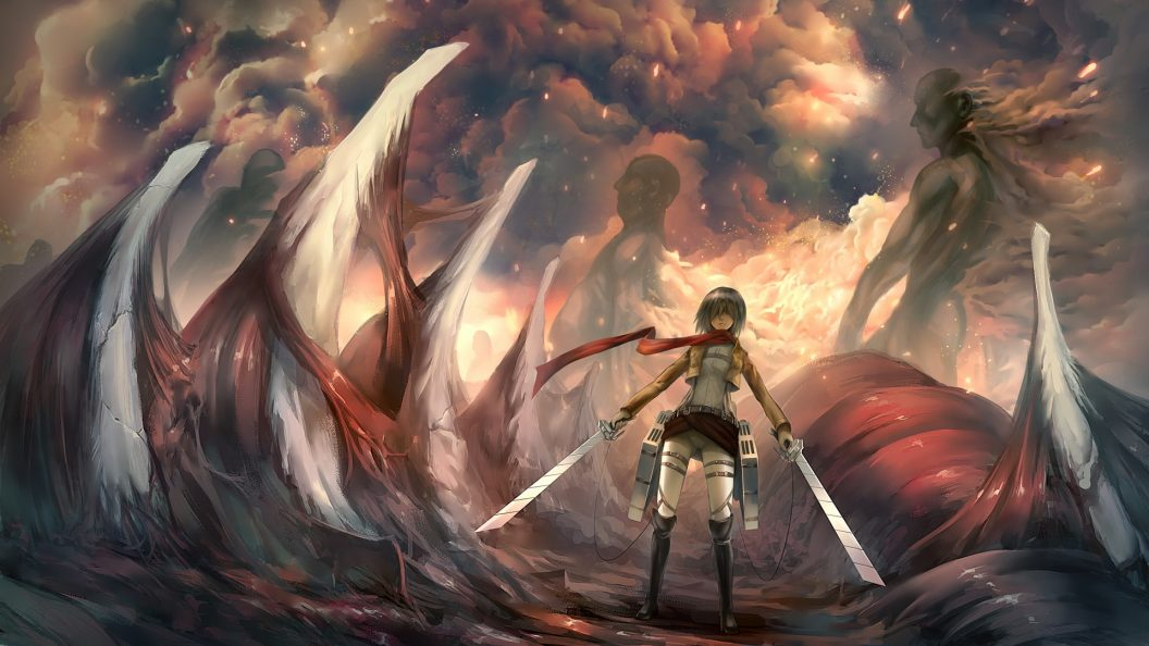 Attack on Titan - PS4Wallpapers.com