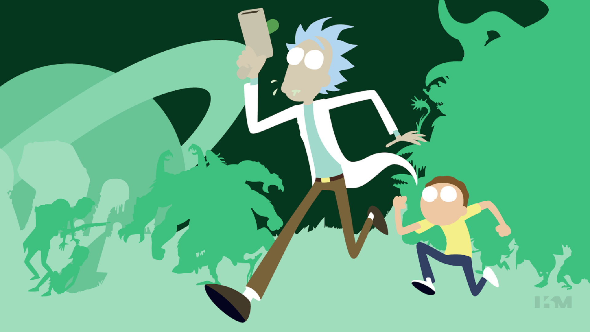 Rick Morty Ps4wallpapers Com