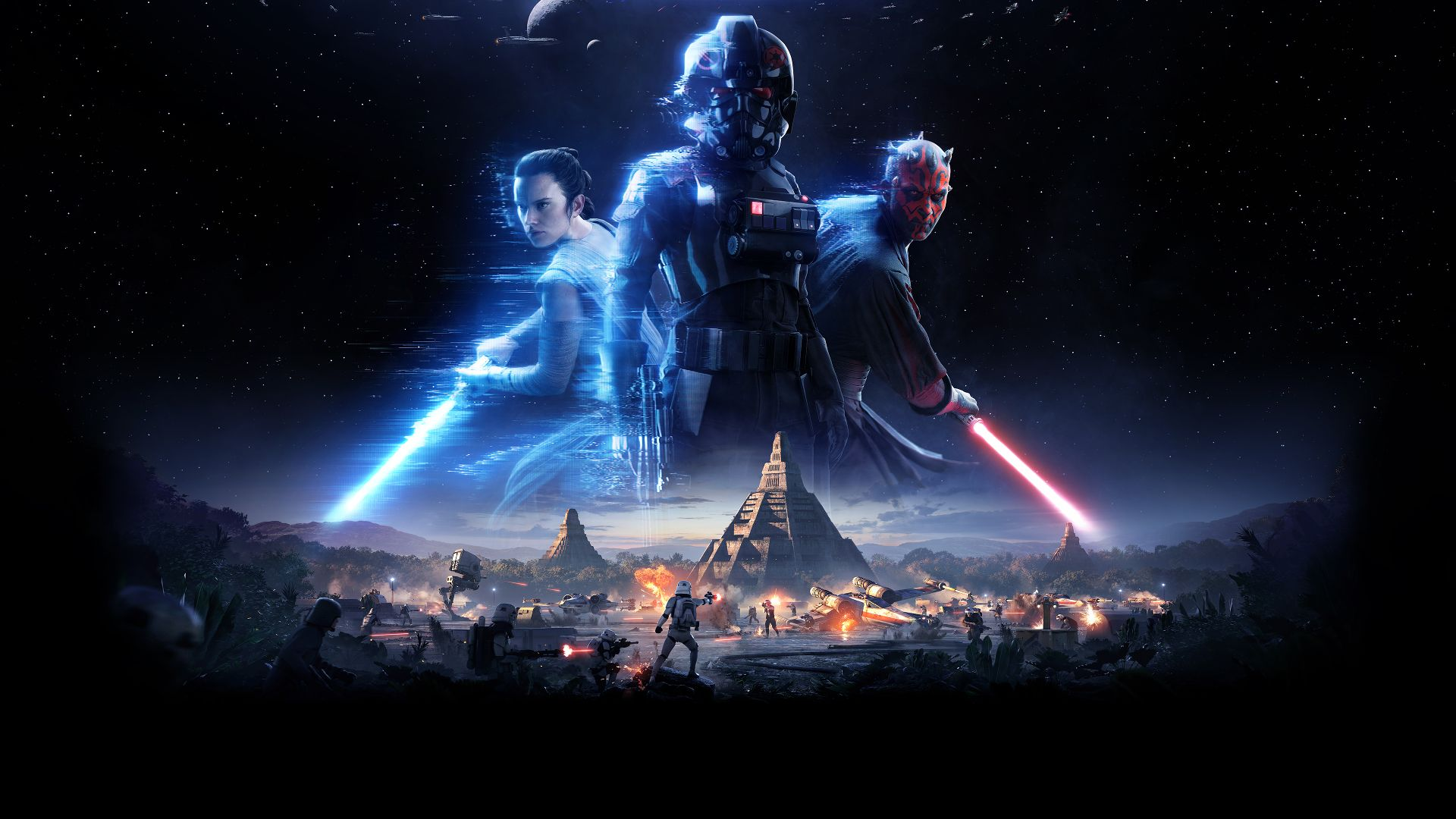 Star Wars Battlefront Ii Ps4wallpapers Com