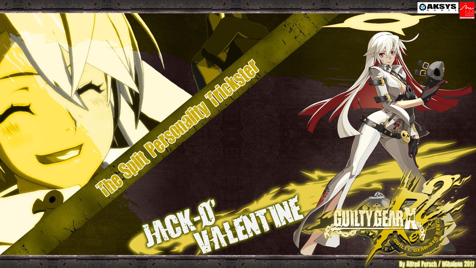 Guilty Gear Xrd Revelator Jack O Valentine Ps4wallpapers Com
