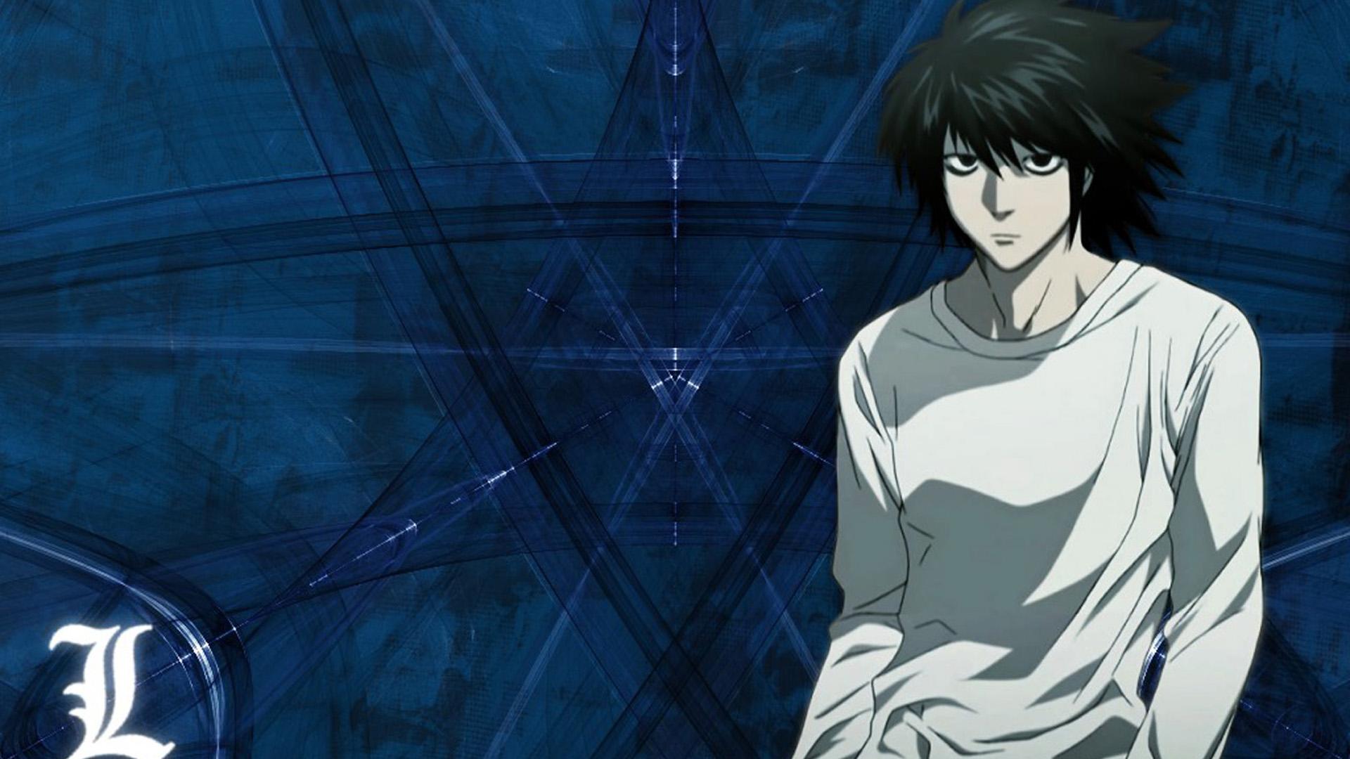 Death Note - L   PS4Wallpapers.com