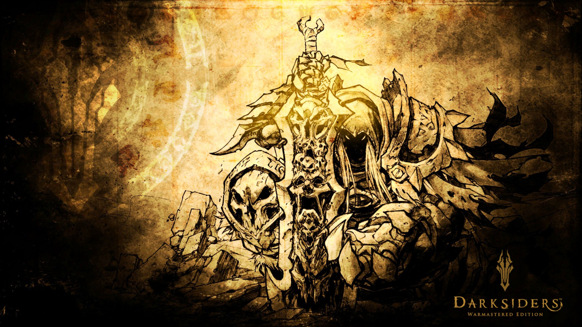 Darksiders War Wallpaper By: Darksiders Warmastered