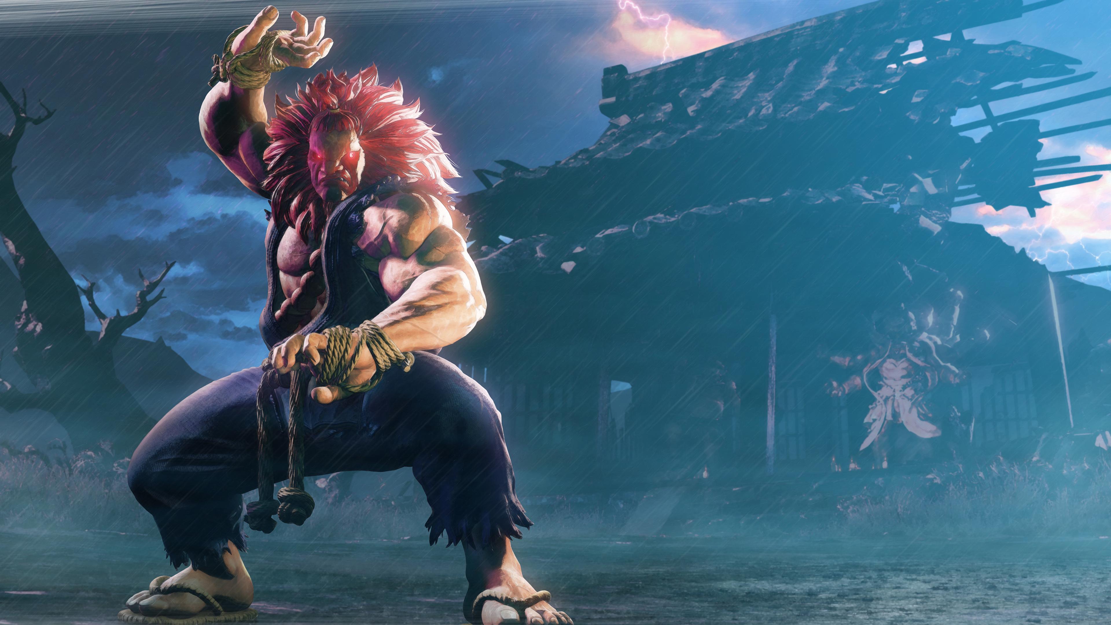 Street fighter v akuma - Akuma oni wallpaper ...