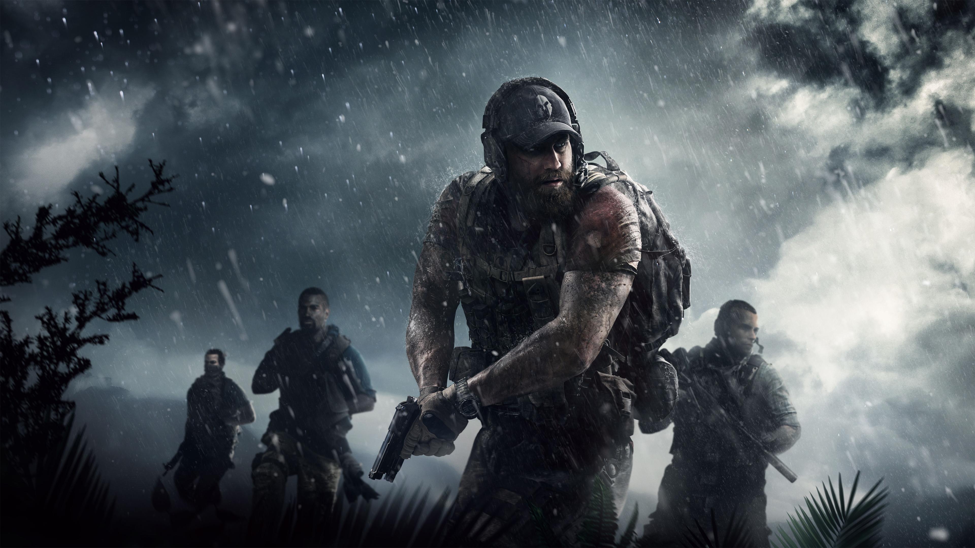 Tom Clancy S Ghost Recon Wildlands Ps4wallpapers Com