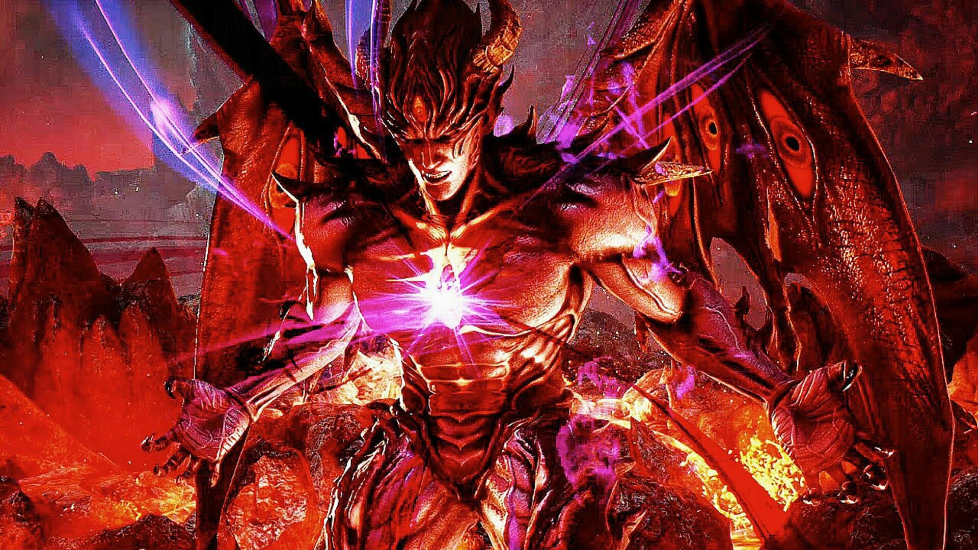 Devil Kazuya Full Form Tekken 7 01
