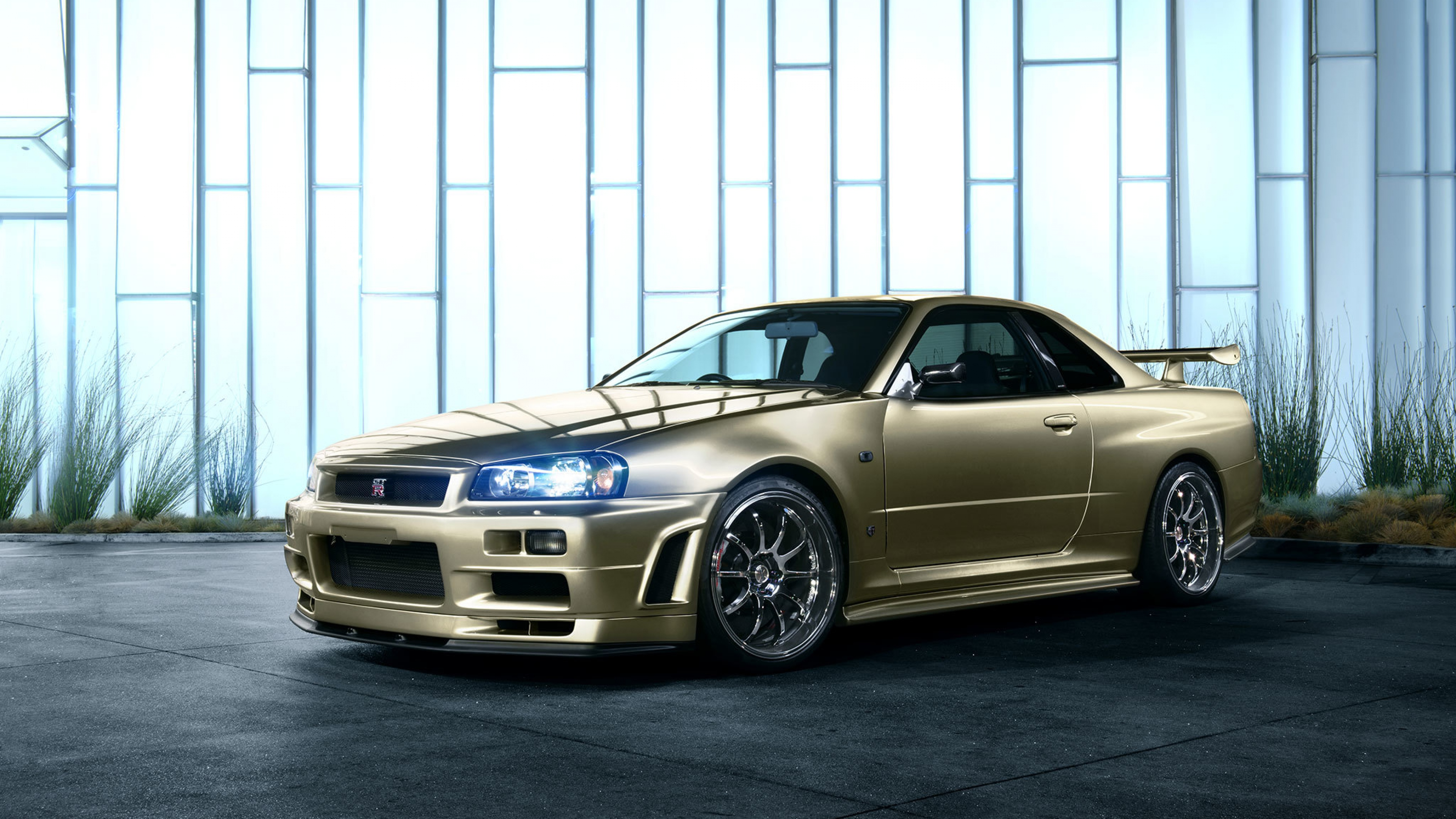 Nissan R34 Skyline Ps4wallpapers Com