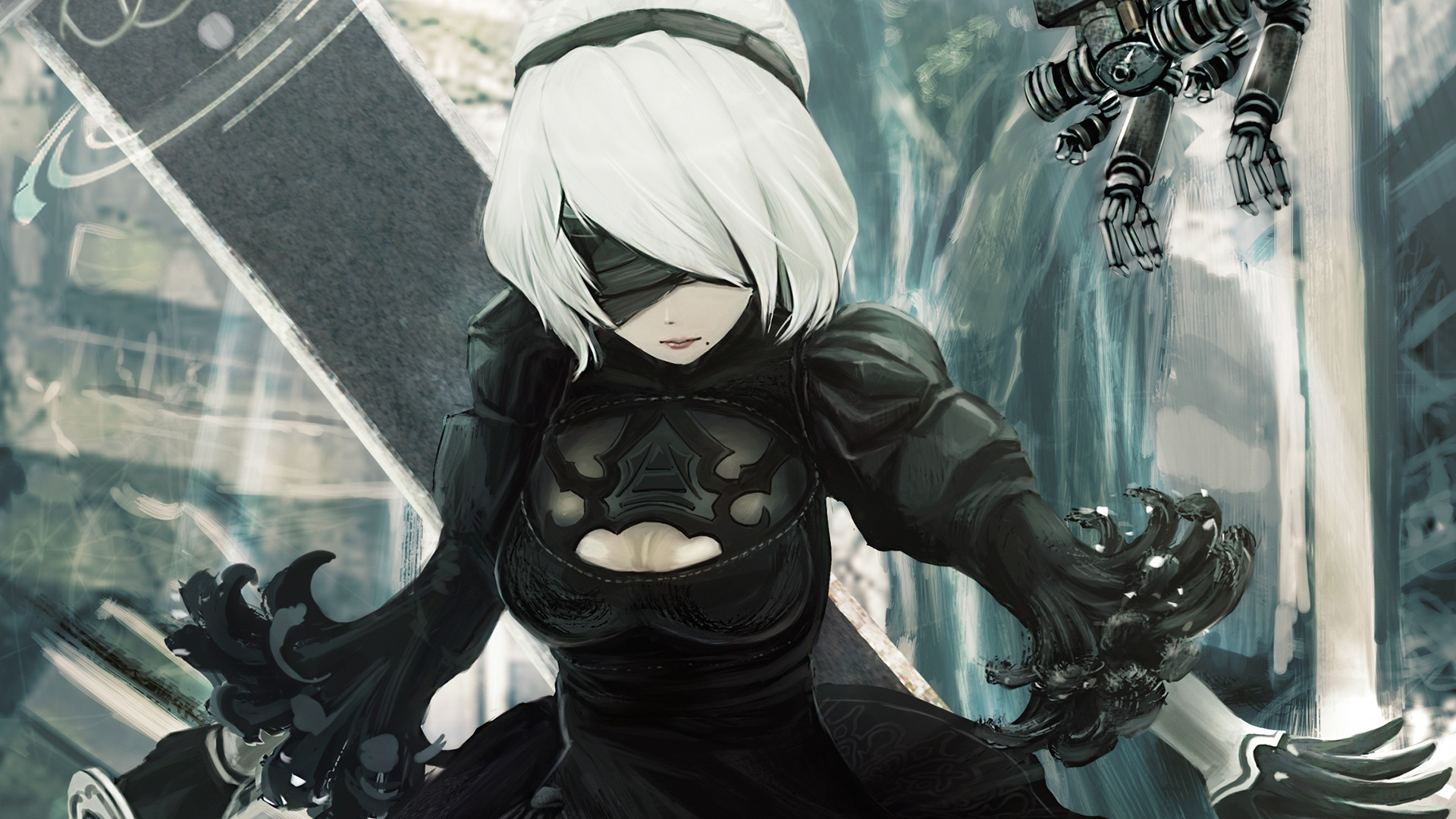 Hd wallpaper nier automata - Download Wallpaper Nier Automata