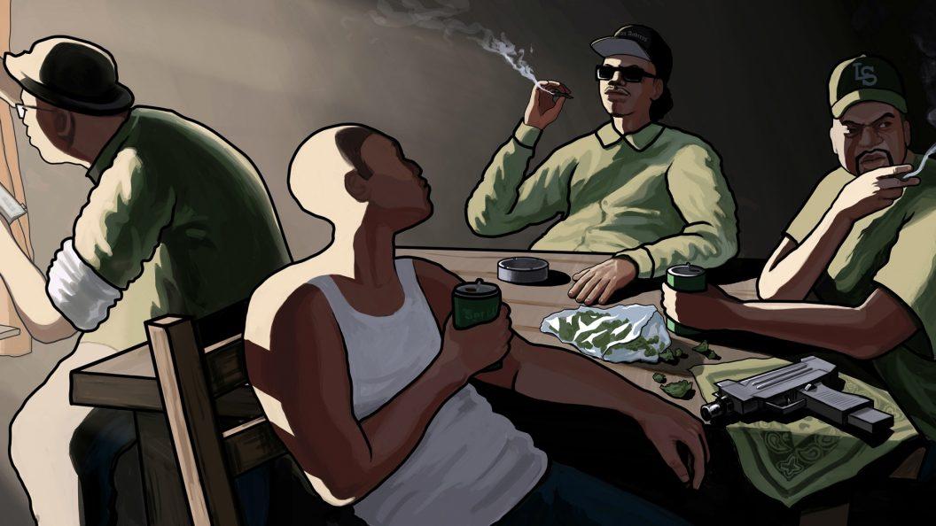GTA San Andreas – PS4Wallpapers.com
