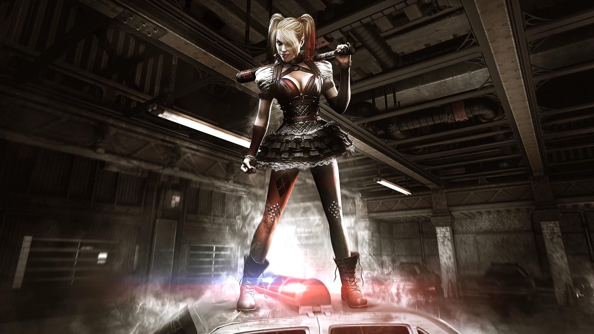Harley Quinn Batman Arkham Knight Ps4wallpapers Com