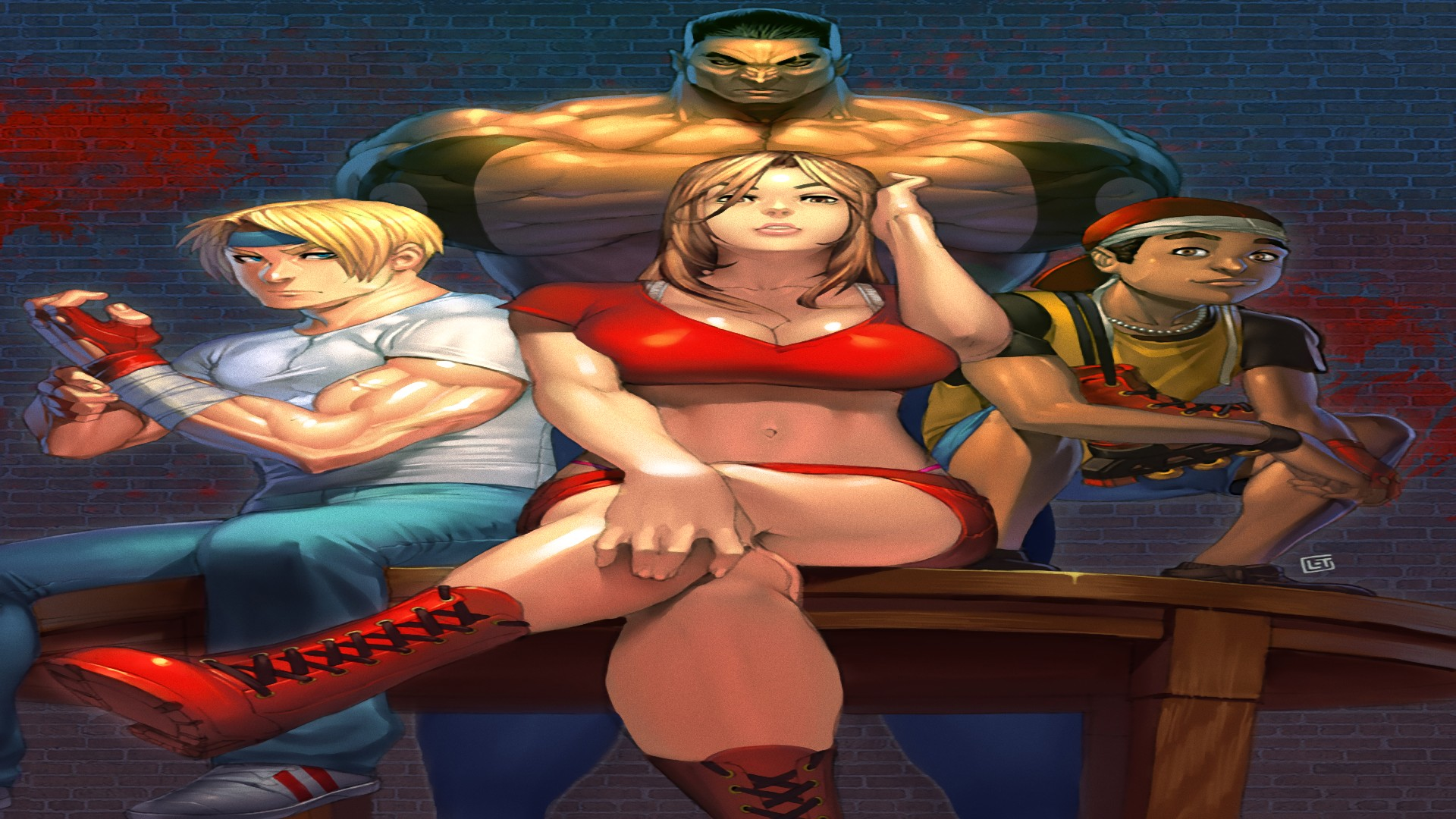 Streets Of Rage 2 Ps4wallpapers Com