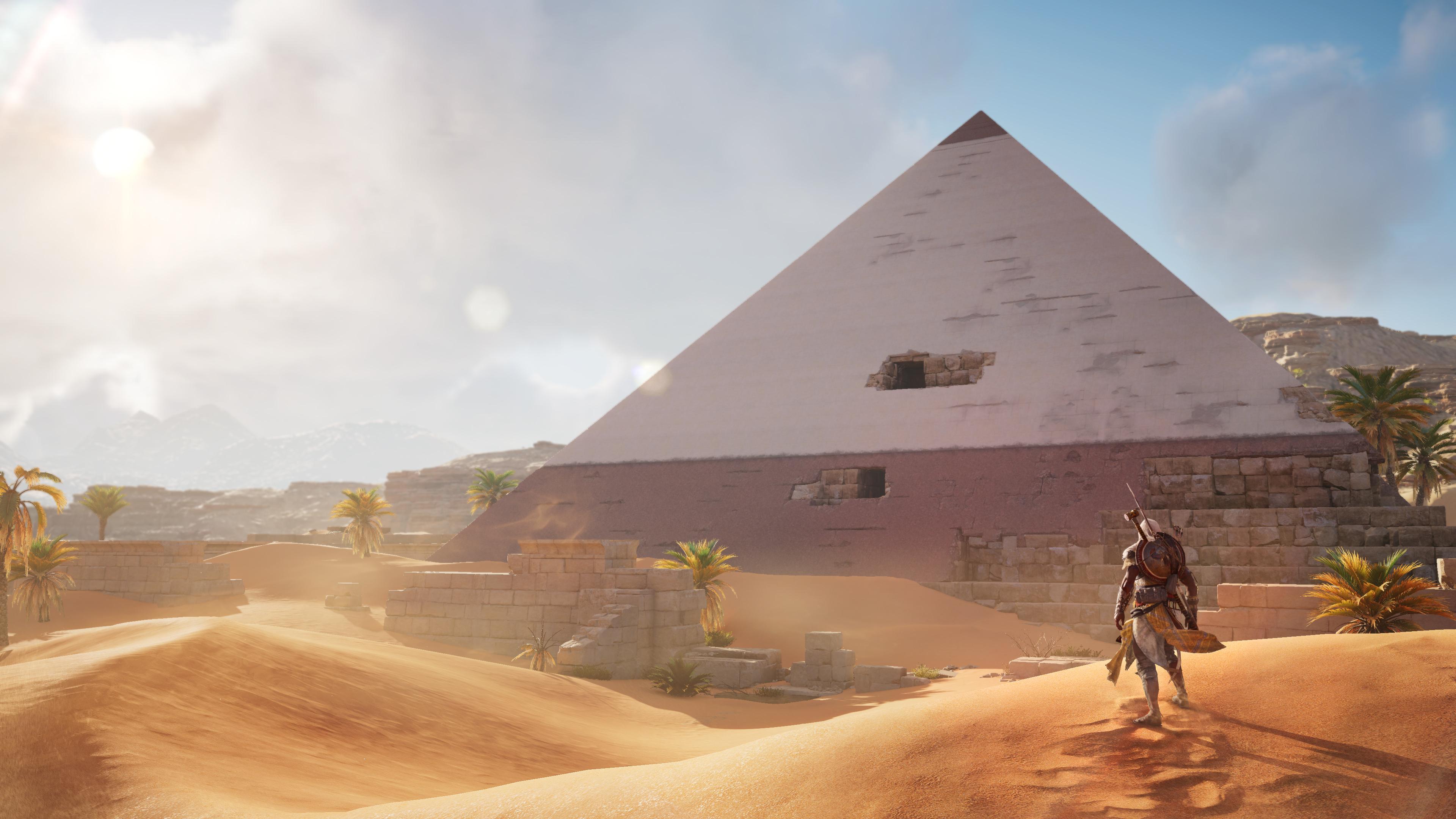 Assassin S Creed Origins Pyramid Ps4wallpapers Com