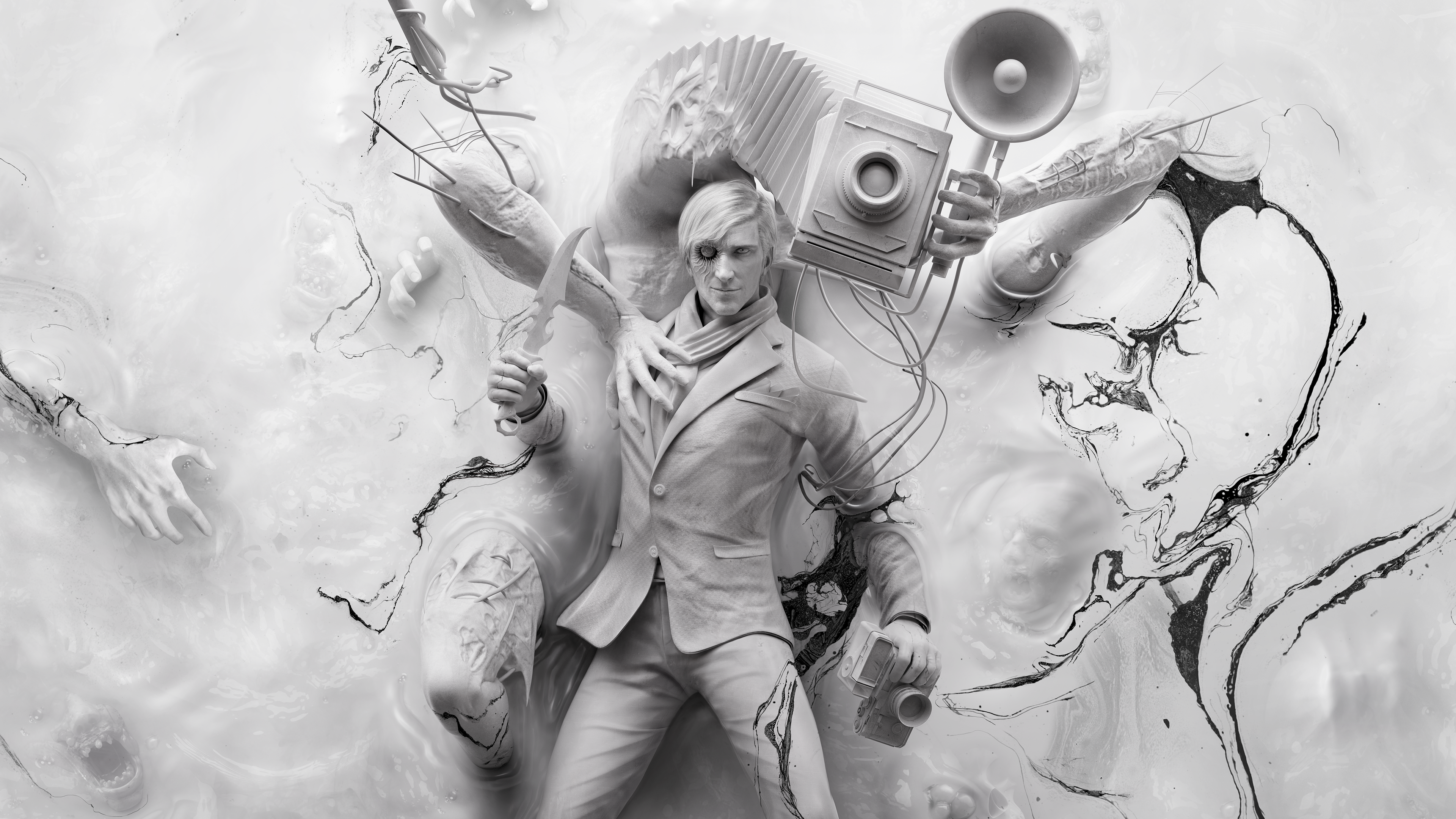 Wallpaper Theodore Harbinger The Evil Within 2 Hd: Stefano And Obscura