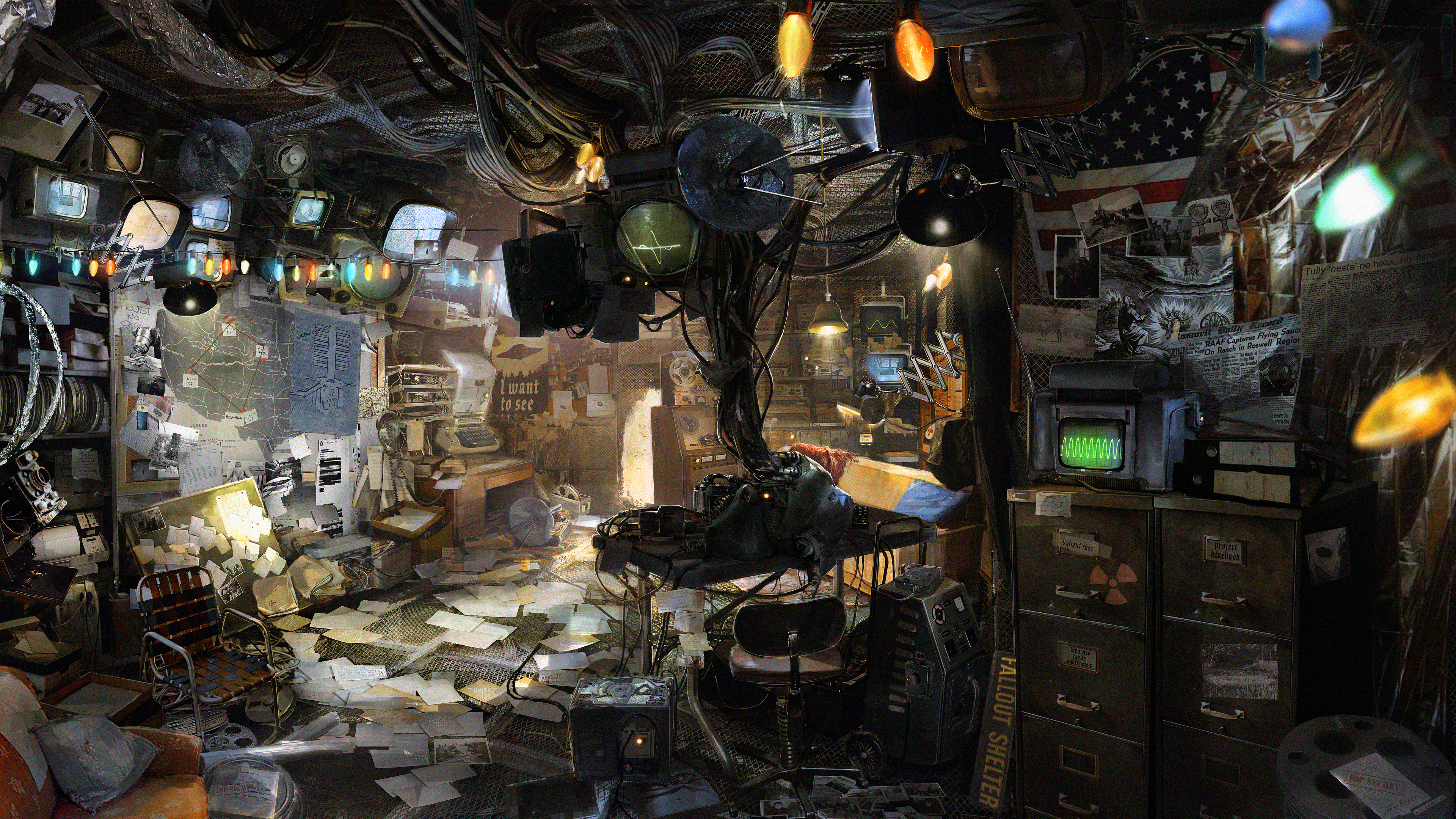 Wolfenstein Ii The New Colossus Diner Basement Ps4wallpapers Com
