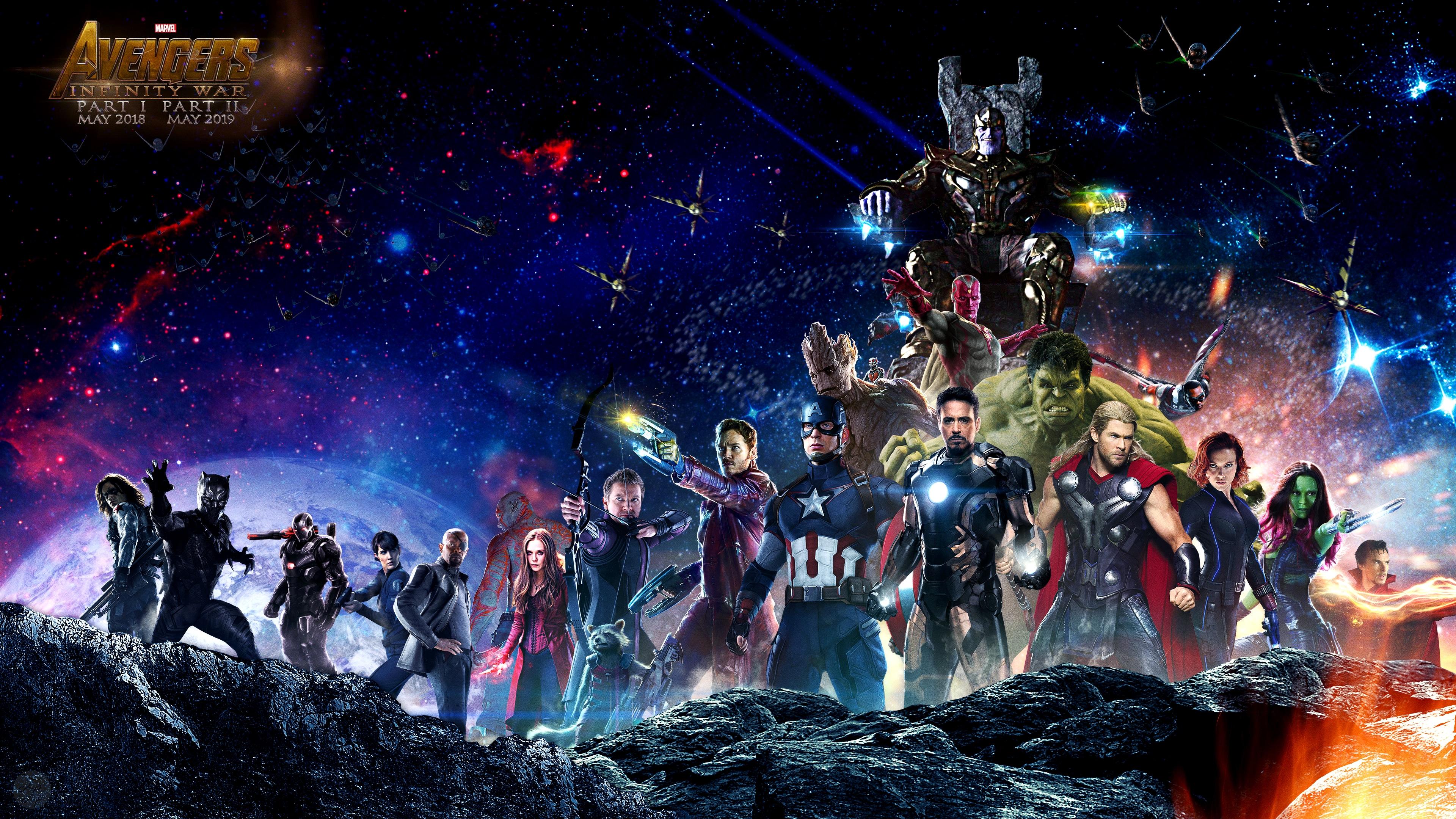 Avengers Infinity War Ps4wallpaperscom