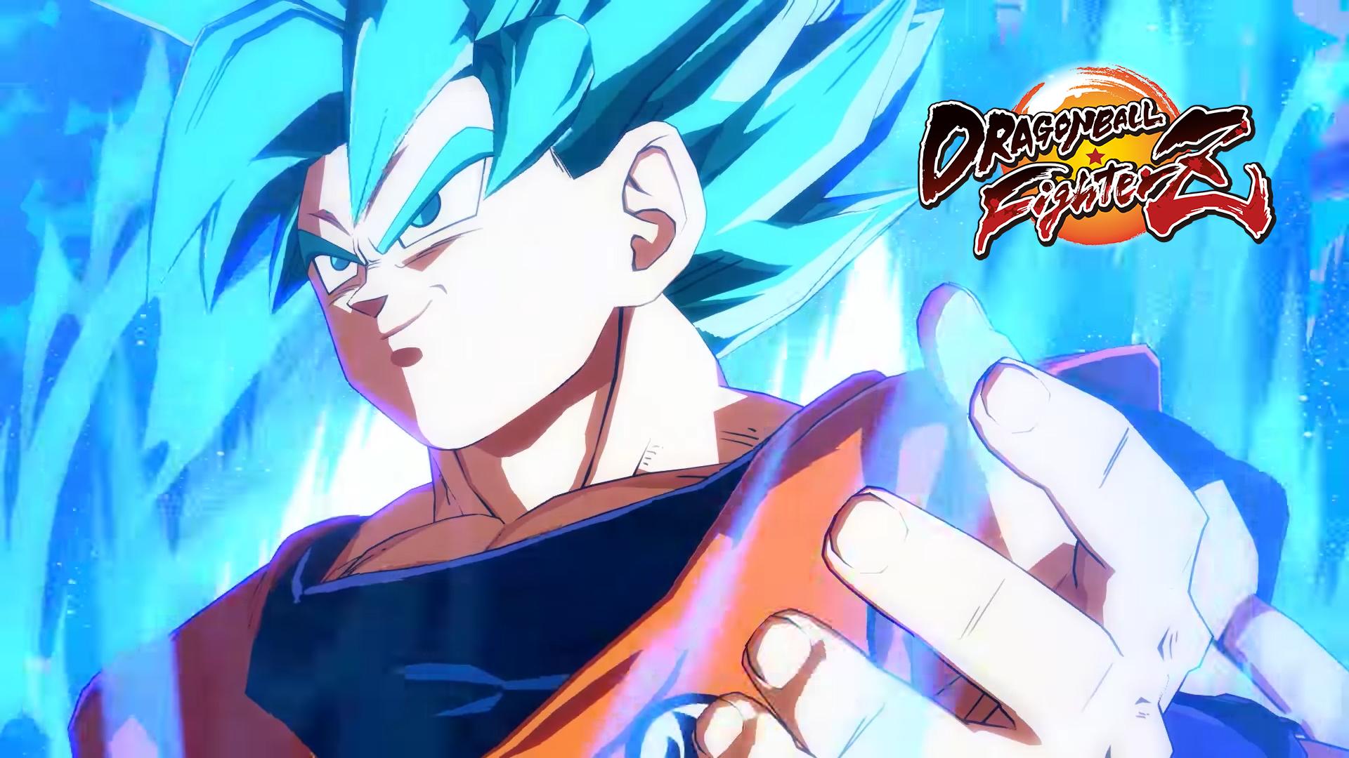 Dragonball Fighterz Ssjb Goku Wallpaper Ps4wallpapers Com