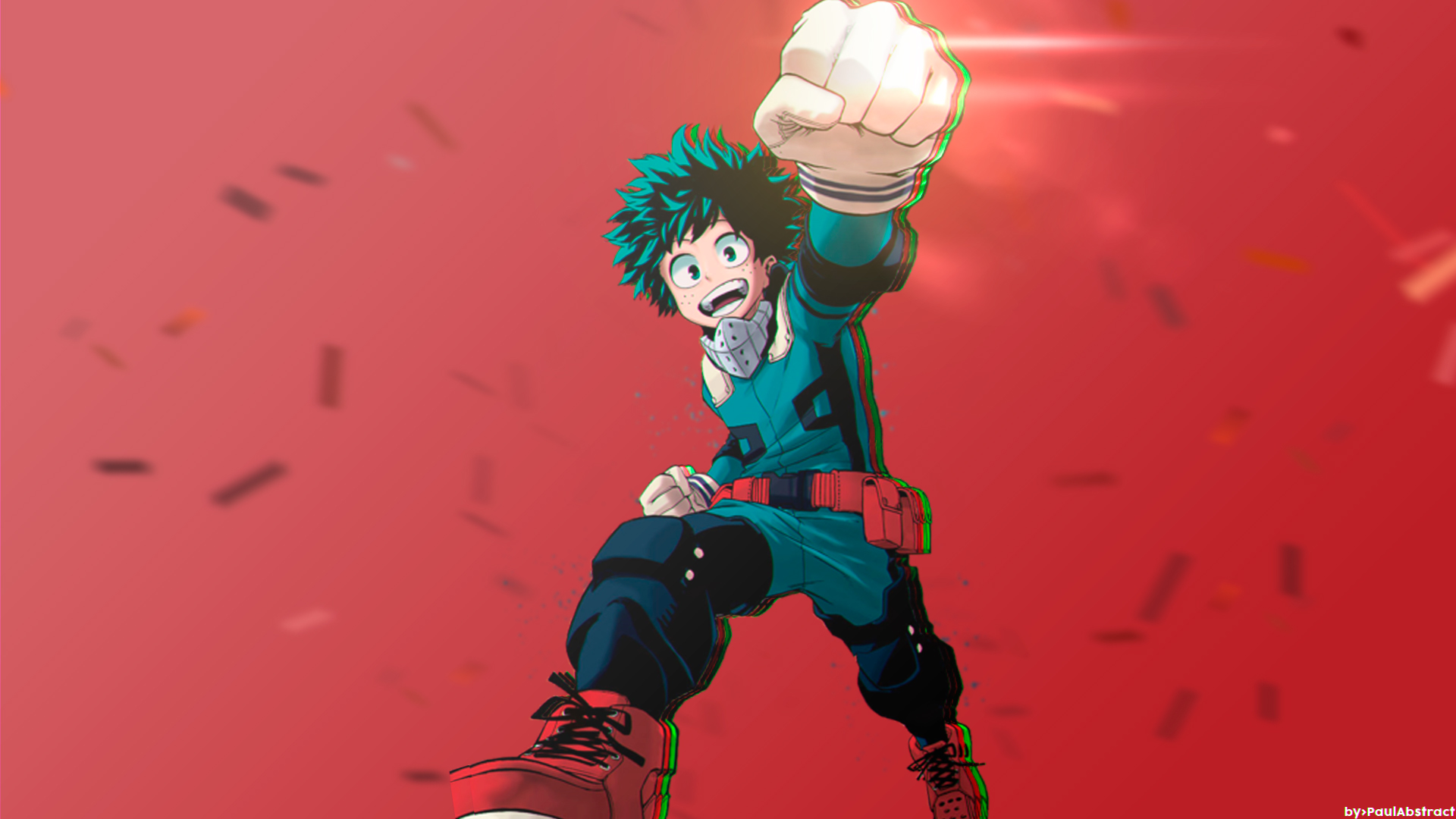 My Hero Academia Deku Ps4wallpapers Com