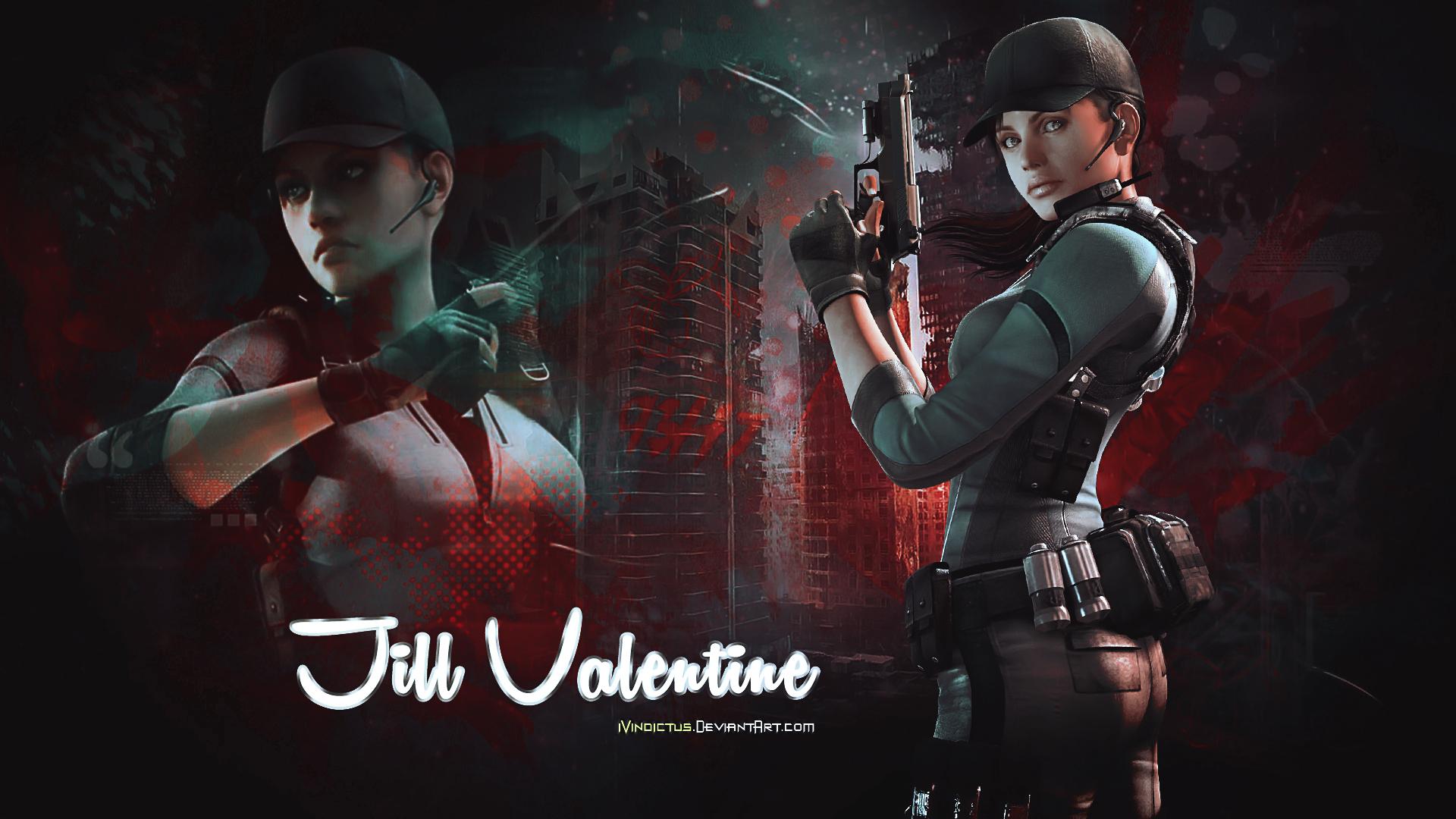 Jill Valentine Ps4wallpapers Com