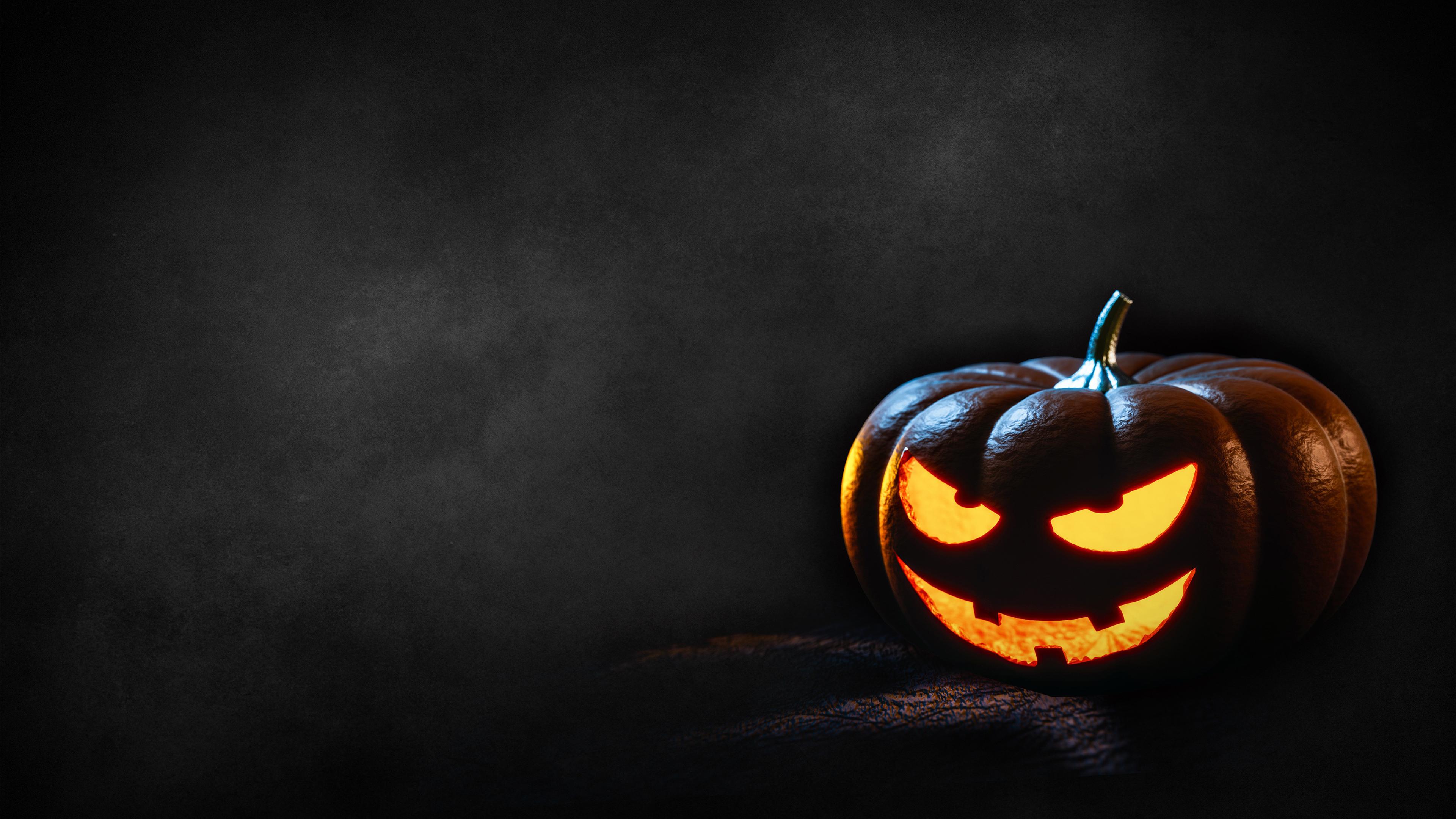 Halloween Dark Background PS4 Wallpapers