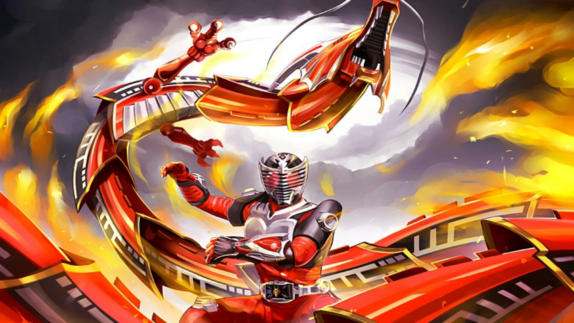 masked rider ryuki 01 ps4wallpapers com