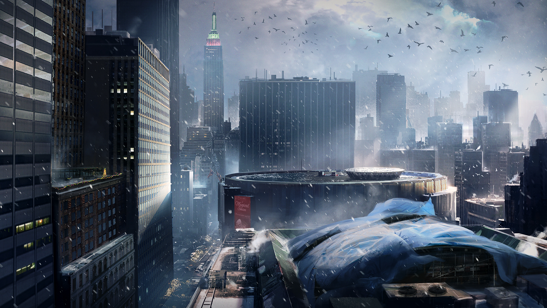 The Division Concept Art Ps4wallpapers Com