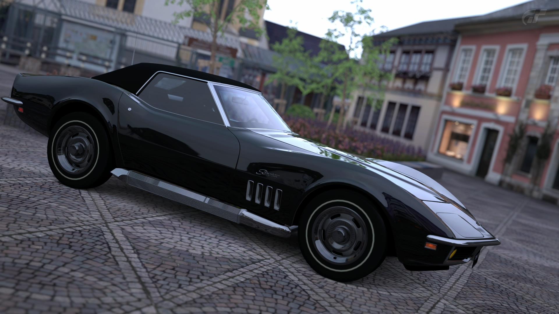 1969 Chevrolet Corvette C3 Coupe Ps4wallpapers Com