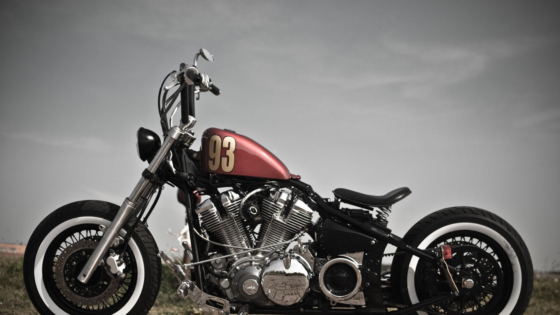 Harley davidson sportster bobber - Old school harley davidson wallpaper ...