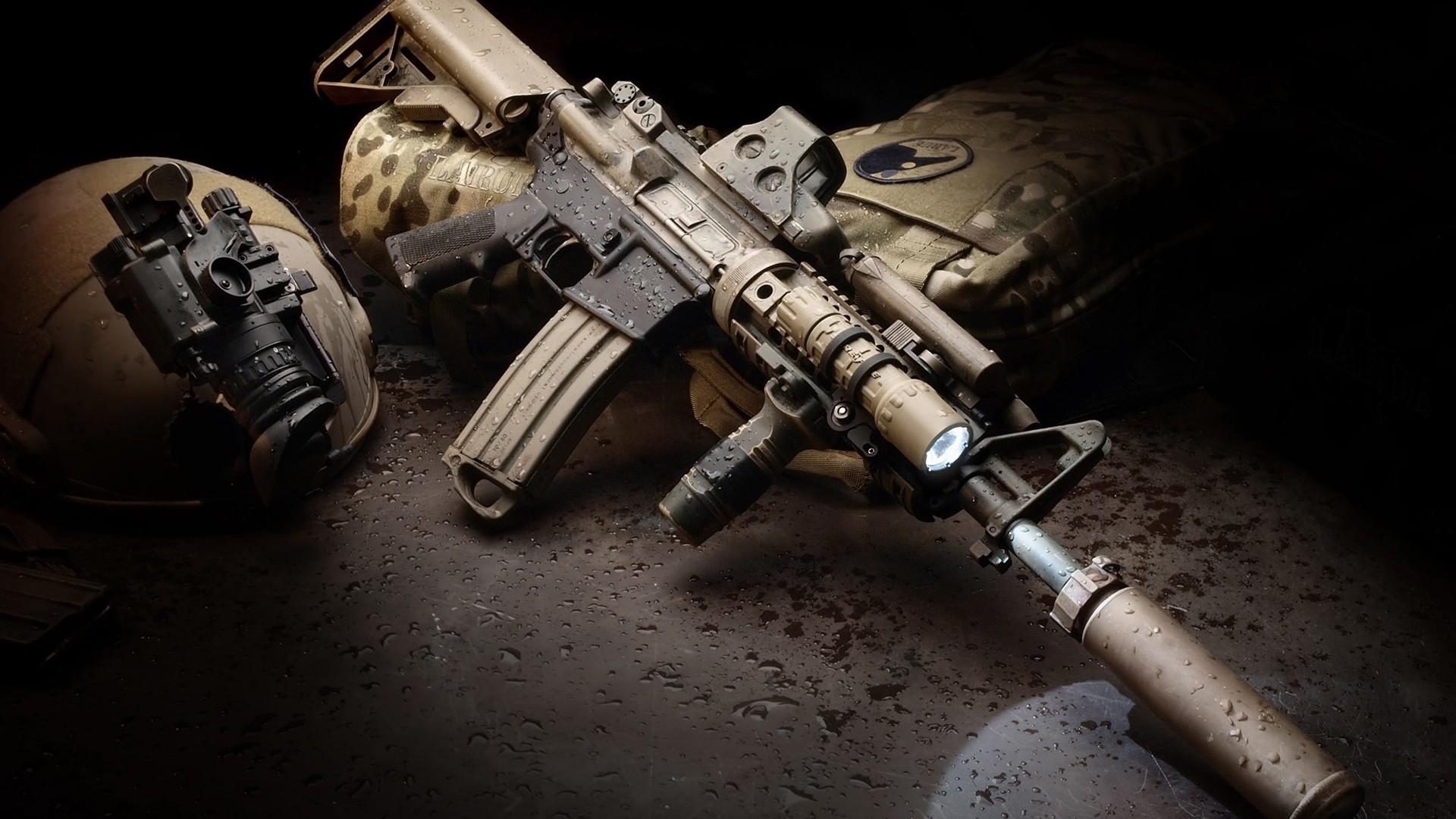 Tan AR 15