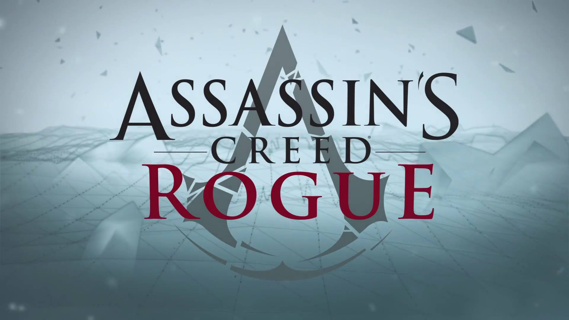 assassin's creed rogue – logo | ps4wallpapers