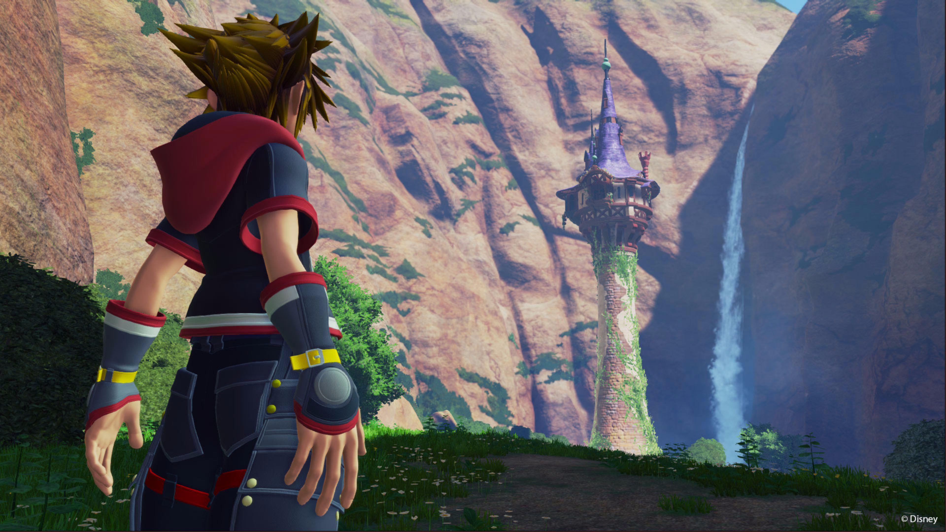 Sora Kingdom Hearts 3 Ps4wallpapers Com