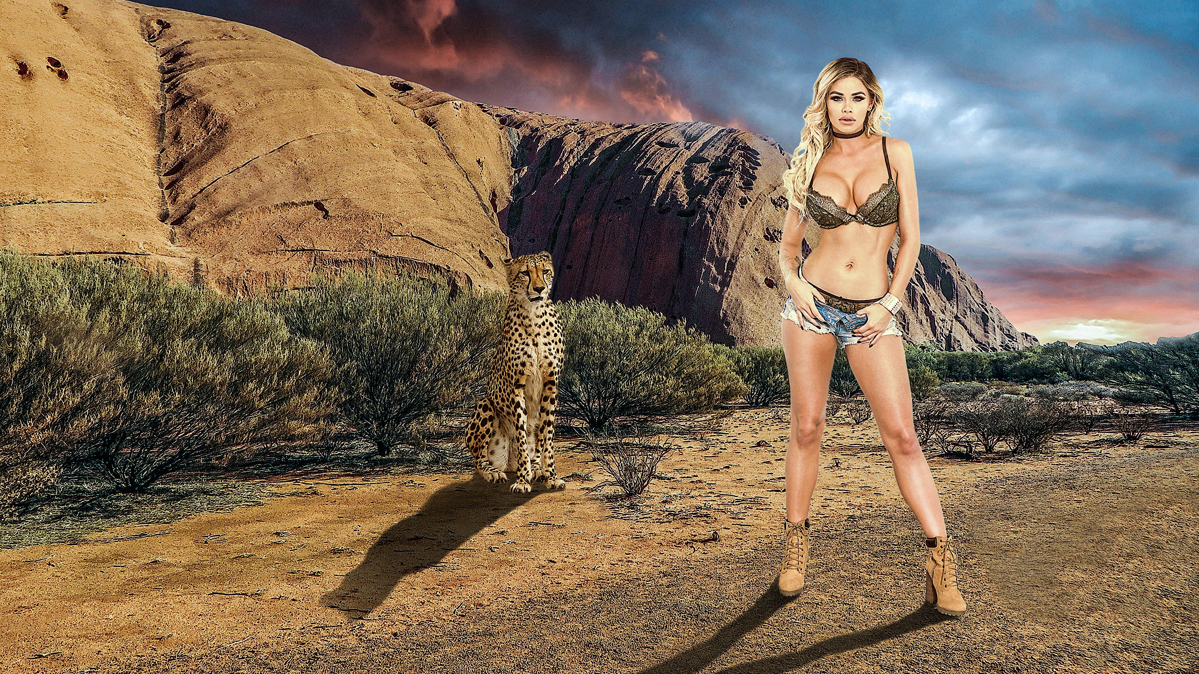 top Safari bikini