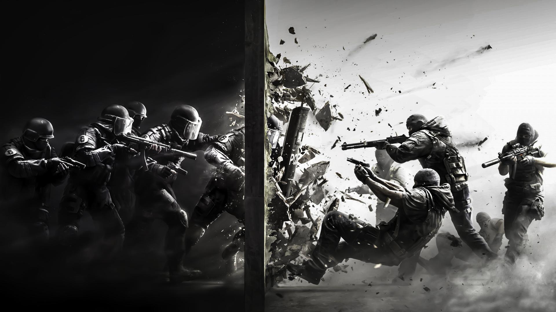 Tom Clancy's Rainbow Six Siege - PS4Wallpapers.com