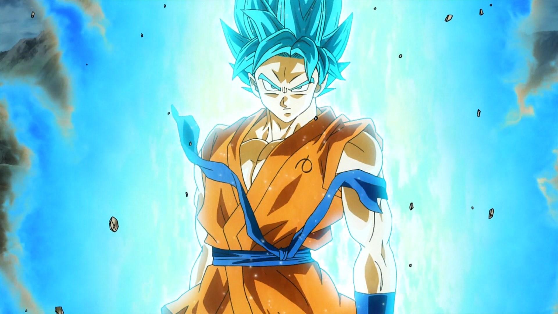 Super Saiyan Saiyajin Blue Goku Ps4wallpapers Com